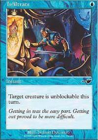 Infiltrate Magic Card