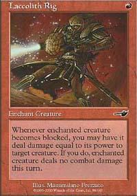 Laccolith Rig Magic Card