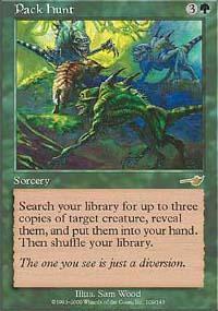 Pack Hunt Magic Card