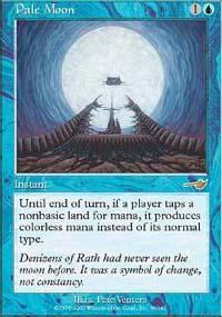 Pale Moon Magic Card