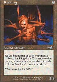 Rackling Magic Card