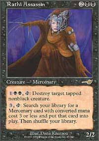Rathi Assassin Magic Card