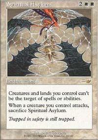 Spiritual Asylum Magic Card