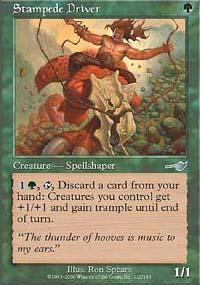 Stampede Driver Magic Card