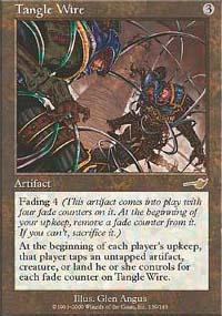 Tangle Wire Magic Card