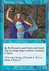 Trickster Mage Magic Card