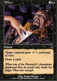 Afflict Magic Card