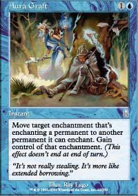 Aura Graft Magic Card