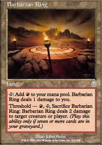 Barbarian Ring Magic Card