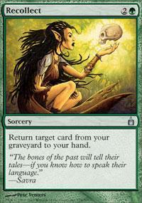 Recollect Magic Card