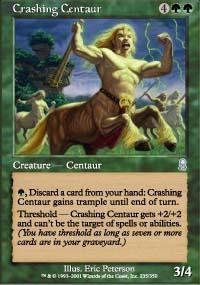Crashing Centaur Magic Card