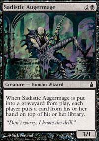 Sadistic Augermage Magic Card