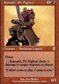 Kamahl, Pit Fighter Magic Card