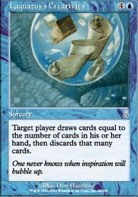 Laquatus's Creativity Magic Card