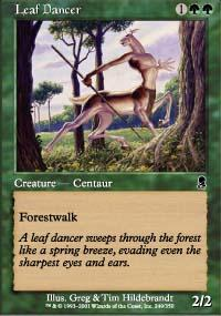 Leaf Dancer Magic Card
