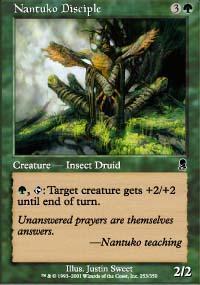 Nantuko Disciple Magic Card