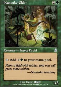 Nantuko Elder Magic Card