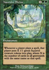 Nantuko Shrine Magic Card