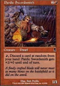 Pardic Swordsmith Magic Card