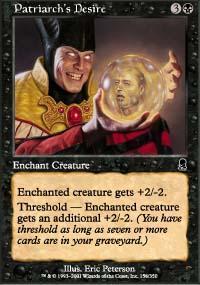 Patriarch's Desire Magic Card
