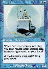 Scrivener Magic Card