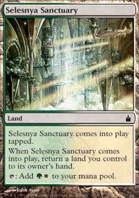 Selesnya Sanctuary Magic Card