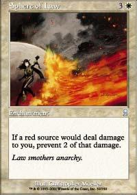 Sphere of Law Magic Card