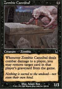 Zombie Cannibal Magic Card