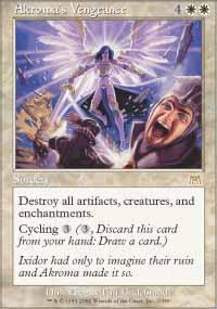 Akroma's Vengeance Magic Card