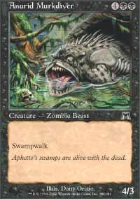 Anurid Murkdiver Magic Card