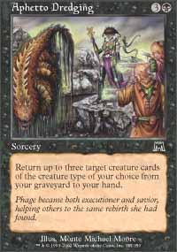 Aphetto Dredging Magic Card
