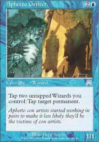 Aphetto Grifter Magic Card