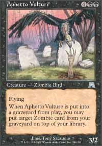 Aphetto Vulture Magic Card