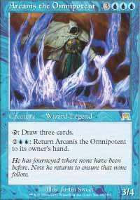 Arcanis the Omnipotent Magic Card
