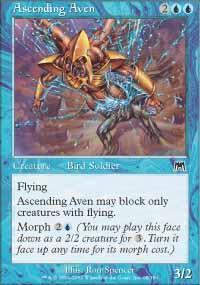 Ascending Aven Magic Card