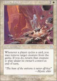 Astral Slide Magic Card