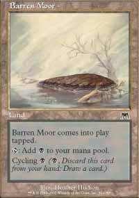 Barren Moor Magic Card