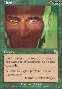 Biorhythm Magic Card