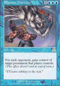 Blatant Thievery Magic Card