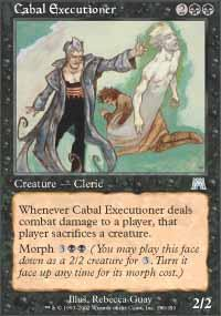 Cabal Executioner Magic Card