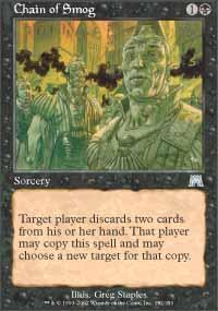 Chain of Smog Magic Card