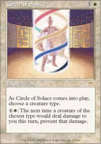 Circle of Solace Magic Card
