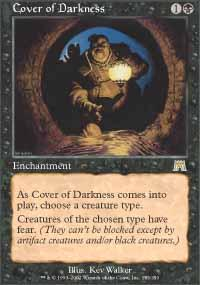 Cover of Darkness Magic Card