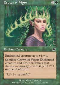 Crown of Vigor Magic Card