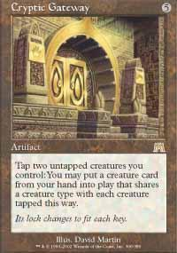 Cryptic Gateway Magic Card