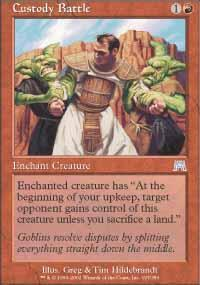 Custody Battle Magic Card