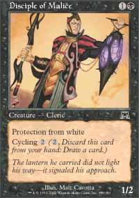 Disciple of Malice Magic Card