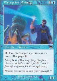 Disruptive Pitmage Magic Card