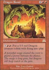 Dragon Roost Magic Card