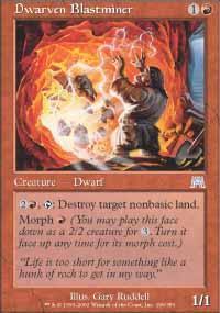 Dwarven Blastminer Magic Card